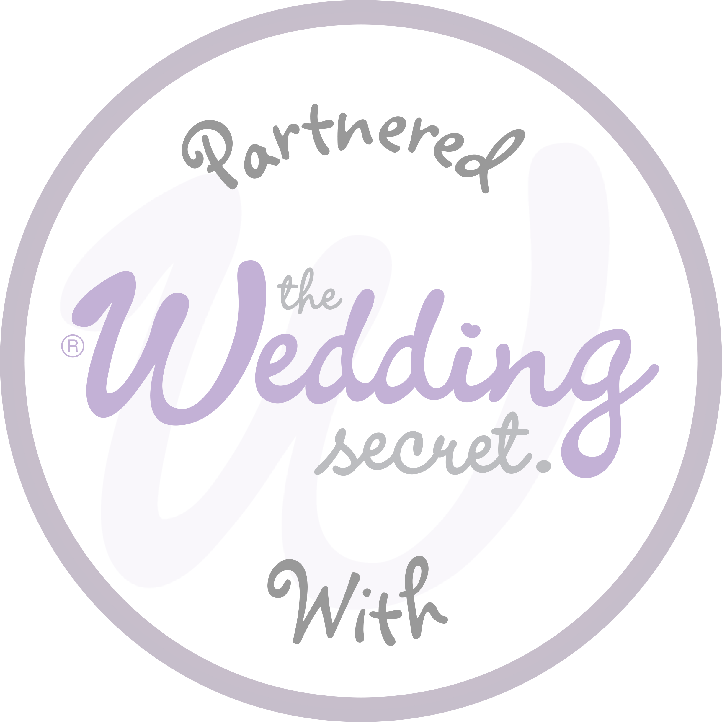 The Wedding Secret Badge